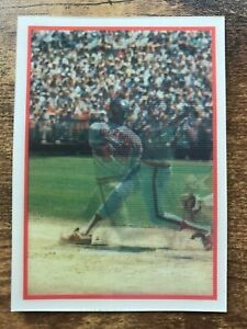 Details About 1987 Sportflics Baseball Card 44 Reggie Jackson California Angels Nmmt Mt