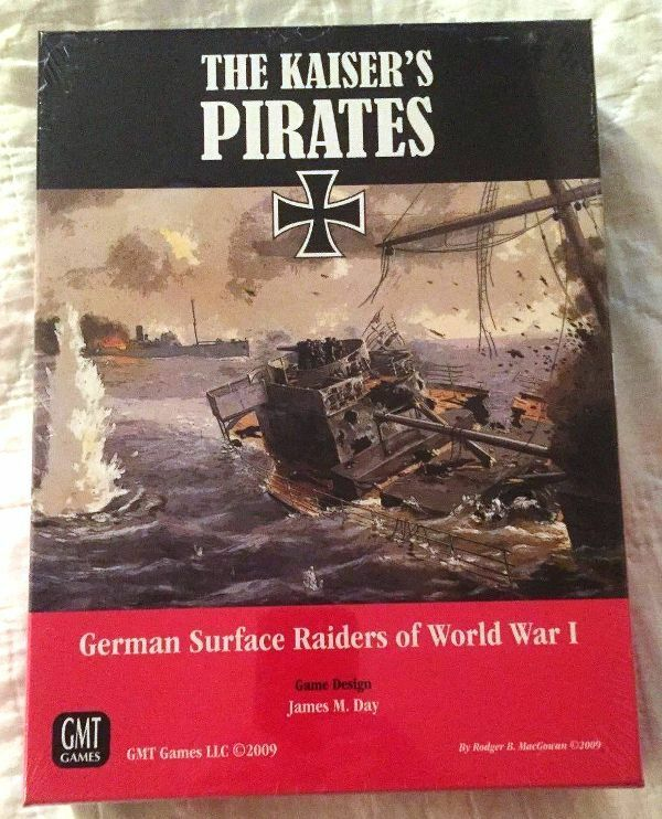 MINT, GMT The Kaiser's Pirates  German Surface Raiders of World War I; sealed