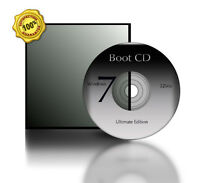 Compatible W/ Windows 7 Ultimate Edition 32-bit Boot Cd System Restore Recovery