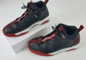 4d28129df76 Nike Mens Air Jordan Jumpman Pro Quick Black White Gym Red 932687 ...