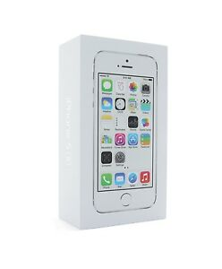 iPhone-5S-Silber-OVP-Originalverpackung-Karton-Verpackung-Schachtel-Box-Deutsch