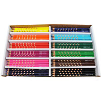 Prang Groove Colored Pencils 144/st Assorted 28144 on sale