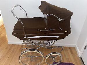 Vintage-1970-039-s-Silver-Cross-034-Berkeley-034-Pram-Buggy-Stroller-Carriage-England