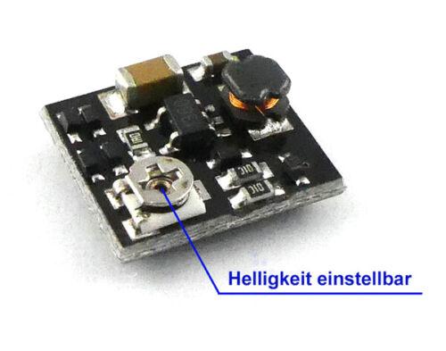 Konstantstromquelle 50mA LED Treiber dimmbar 6-24V AC DC Mini KSQ 12x11x3,2mm