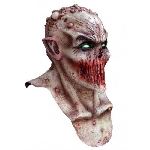 Demon Deadly Silence Full Head and Neck Latex Mask Fancy Dress Halloween