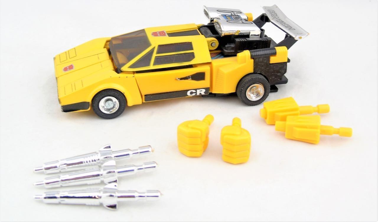 Transformers Original G1 1984 Pre Rub Carbot Car Sunstreaker Complete