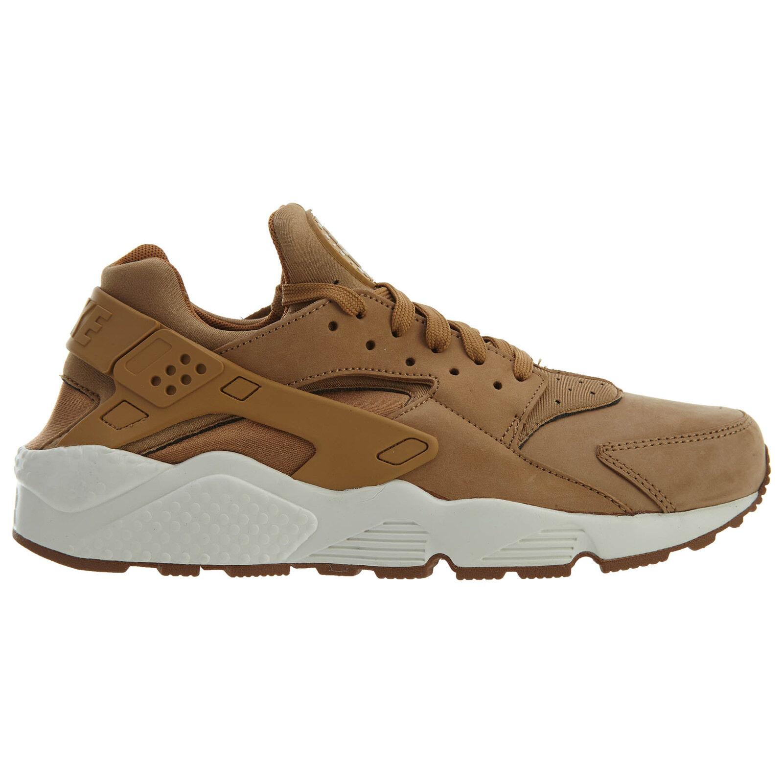 Nike Brown Air Huarache Mens 318429-202 Flax Sail Gum Brown Nike Running Shoes Size 11 8a4d46