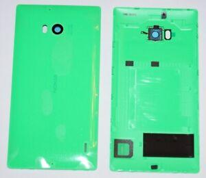 Original-Nokia-Lumia-930-Akkudeckel-Battery-Cover-Kamera-Scheibe-Hell-Gruen