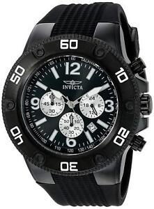 Invicta-20274-Pro-Diver-Men-039-s-Chronograph-52mm-Black-Tone-Steel-Black-Dial-Watch