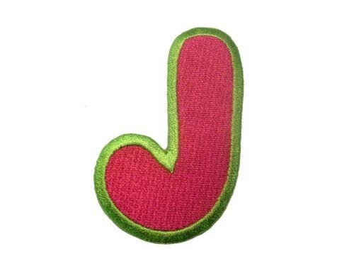 Parche Termoadhesivos Alfabeto//Letra roja