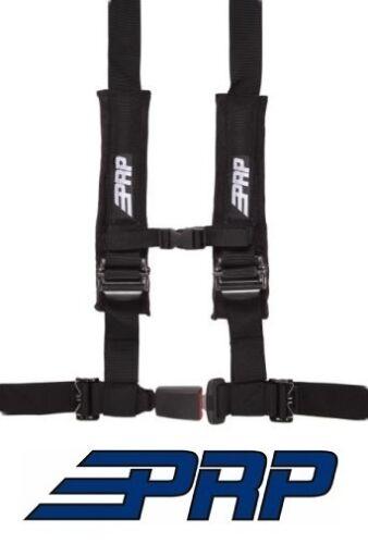 Black for RZR /& Universal PRP Suspension Seat 4 Point 4.2 Safety Harness Belt