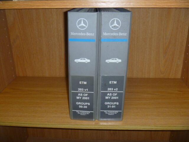 2006-2007 Mercedes Benz C230 C280 C350 C-Class Electrical ...