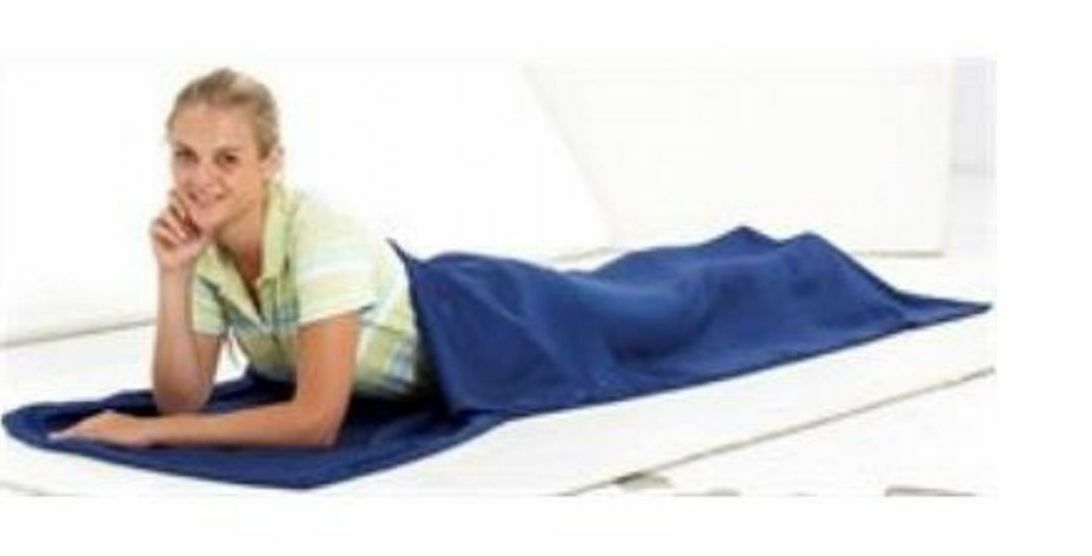 Equip Camping Hiking Sleeping Tasches Large- Healthguard Treated (Blau)