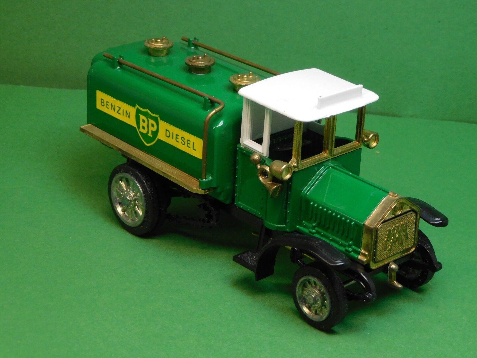 MAN 1. Diesel Lastwagen 1923 24 BP Tankwagen weißes Dach Ziss Modell 1 43 N° 305  | Ausgezeichnete Leistung