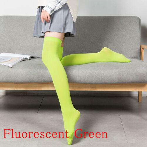 1 Pair Long Stockings High Sock Thigh Socks Thigh High Cotton Summer Socks Cute