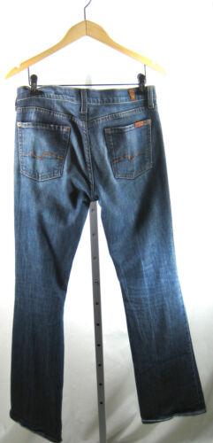 29 All Bootcut 7 For Mankind Jean Medium flare Stretch Denim Size q7XH7w