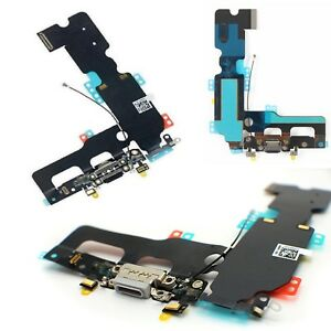 discount sale c8fdd a681c Details about For iPhone 7 Plus Dock Connector Charging Port Replacement  With Antenna & Mic