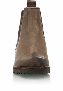 6a2cd390db3 Barneys New York Distressed Chelsea Boots Ankle Boots NIB $395 Sz 37 ...