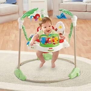 180a87754b34 Fisher Price Rainforest Jumperoo Baby Jumper Walker Bouncer Activity ...