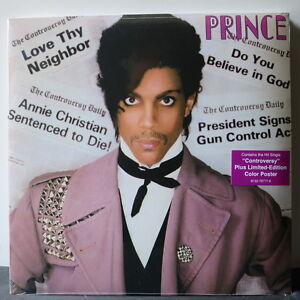 PRINCE-039-Controversy-039-Limited-Edition-180g-Vinyl-LP-Poster-NEW-amp-SEALED