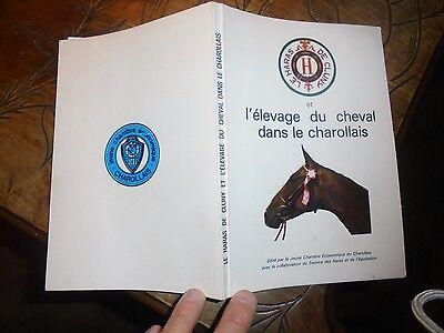Oprecht Le Haras De Cluny L'elevage Du Cheval Dans Le Charollais Courses Hippiques 1977 Crazy Prijs