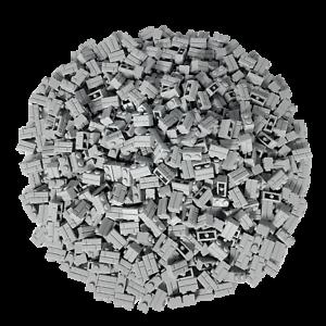 250-Hellgraue-Lego-Steine-1x2-Brick-Mauersteine-Neu-Hellgrau-98283