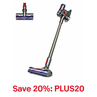 Dyson V7 Animal Cordless Vacuum | Iron | Refurbished, 20% off: PLUS20