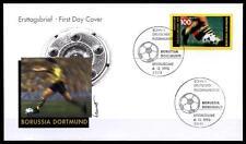 Fußball. Deutscher Fußballmeister 1995, Borussia Dortmund. FDC(3). BRD 1995