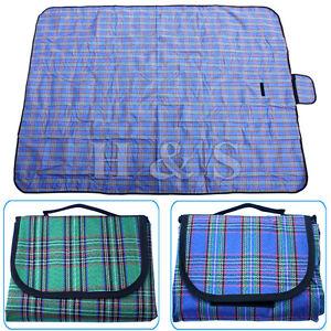 X-Large-57x79-034-Waterproof-Picnic-Blanket-Beach-Mat-Camping-Travel-Rug-Outdoor