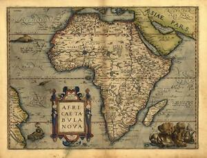 Large-A1-Old-North-Central-South-Africa-African-Continent-Egypt-Map-New-Poster