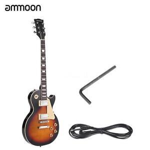 basswood 6 string electric guitar 2 dual coil volume tone control beginnerfull ebay. Black Bedroom Furniture Sets. Home Design Ideas
