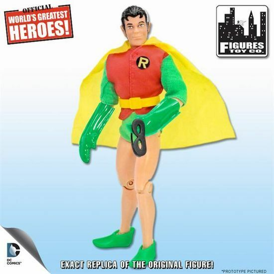 World's  Greatest Heroes Rétro Robin avec amovible Masque MEGO Figures Toy Company  Envoi gratuit pour toutes les commandes