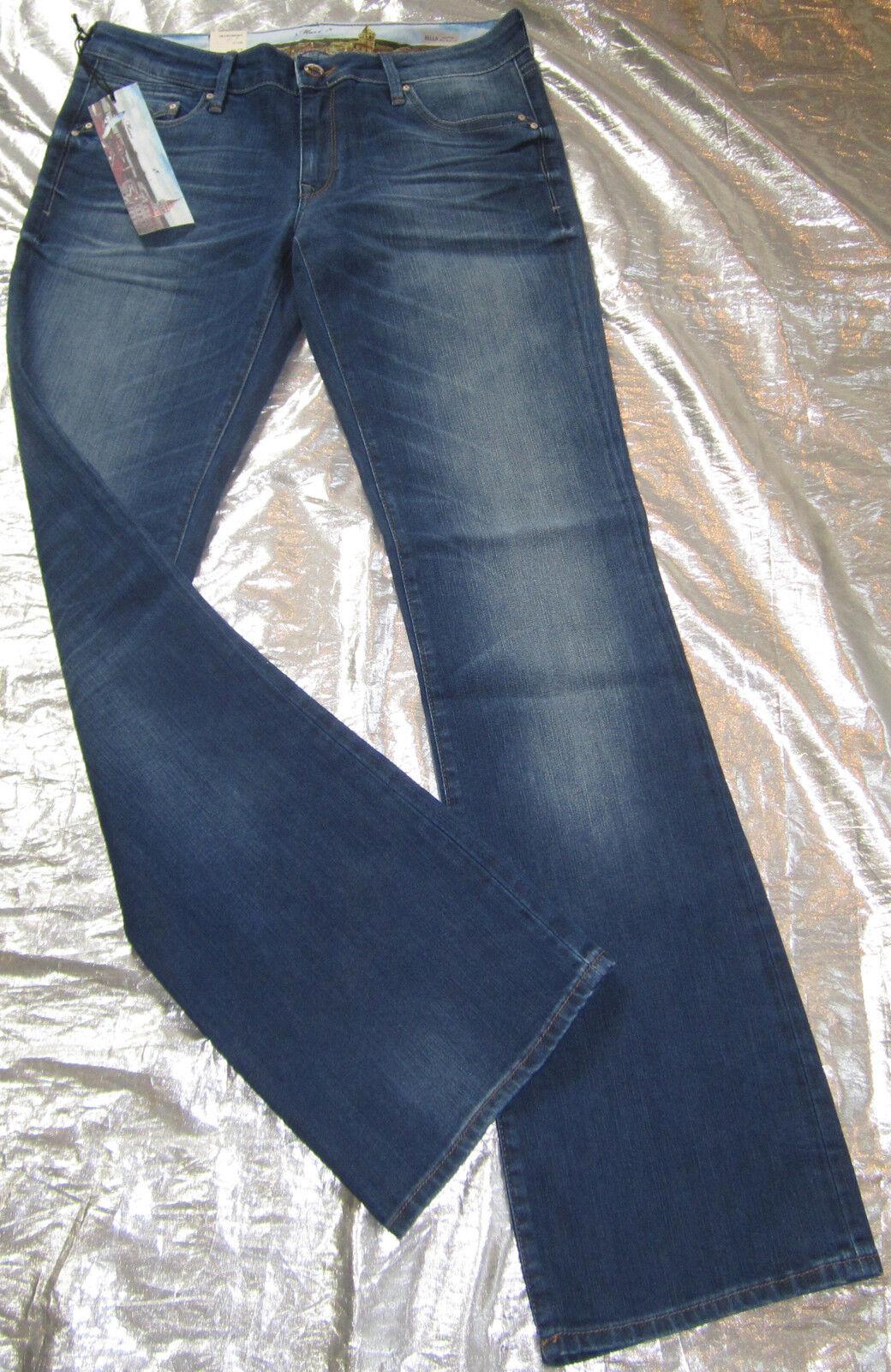 Mavi Jeans Bella Low Rise Slim Stiefelcut Damen blau Mod.1069816230 Neu  H