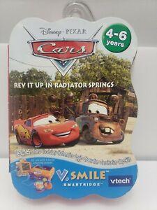 New-Disney-Pixar-Cars-VTech-V-Smile-Smartridge-Rev-It-Up-Learning-Fun-Cartridge