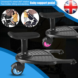 Buggy Stroller Step Board Seat Connector Toddler Child Kids Pushchair Bugaboo A