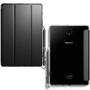 For-Samsung-Galaxy-Tab-S4-10-5-Shockproof-Hybrid-TPU-Clear-Case-Cover-Black
