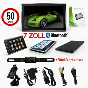 mediatec 7 zoll navigationsger t navi eu de mit bluetooth. Black Bedroom Furniture Sets. Home Design Ideas