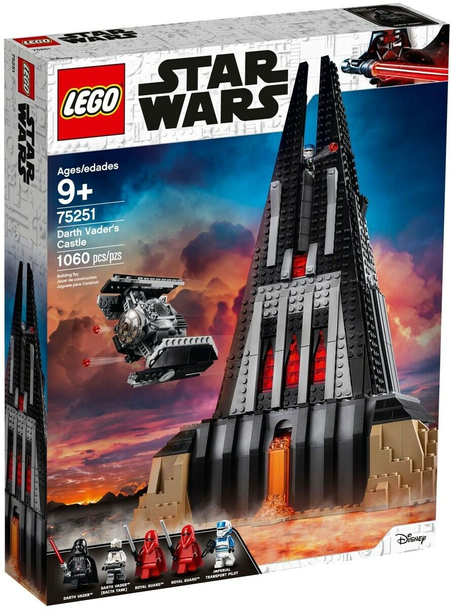 LEGO Star Wars Darth Vader's Castle Set   75251  marques de mode