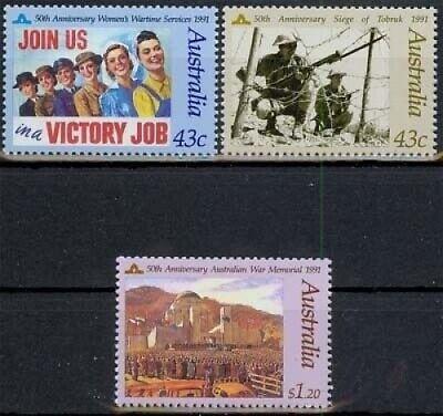 1241/43 ** Australien Minr 50 Jahrestag Der Gründung Der Frauenhilfsdienste