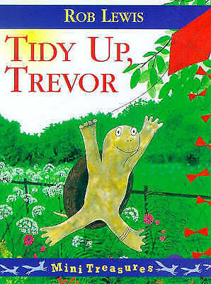 """1 of 1 - """"AS NEW"""" Tidy Up Trevor (Mini Treasure), Lewis, Rob, Book"""