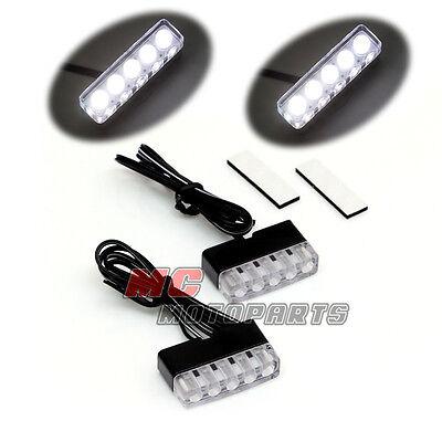 Fairing Sticker LED Front Riding Light Suzuki GSXR 600 750 1000 07 08 09 10 11