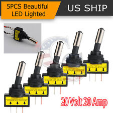 ebytop rocker toggle led switch for car and truck 16pcs include red