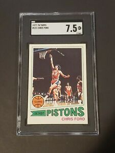 1977-78 Topps #121 Chris Ford SGC 7.5 NM+ Newly Graded