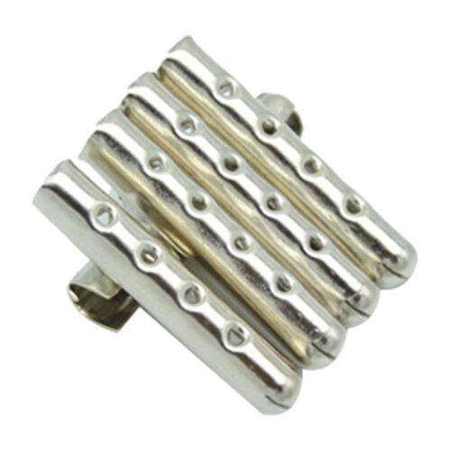 20pcs Shoelaces Metal Aglets Repair Replace Shoe Lace Tips Replacement End Heads