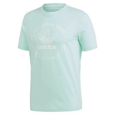 Adidas Original Handbemalt T Shirt Grün Rundhals Herren T-shirt Top Sommer Zu Hohes Ansehen Zu Hause Und Im Ausland GenießEn