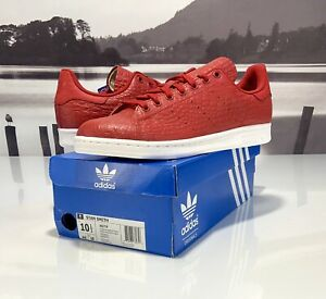Details about Adidas Originals Stan Smith Mens Tennis Shoes Reptile Snakeskin AQ2729 US 10.5