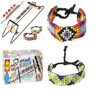 Bead Loom Kit Beading Weaving Beads Necklaces Jewel Bracelets Make Colorful
