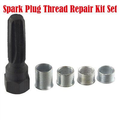 Zündkerzen Gewinde Reparatur Satz M14 Gewindebohrer Werkzeug Set Gewindeeinsätze