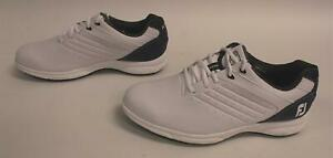 FJ-Arc-Men-039-s-ARC-SL-Golf-Shoes-GG8-White-Navy-Size-9M-99-99