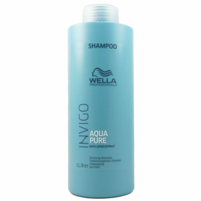 Wella INVIGO Balance Aqua Pure Purifying - tiefenreinigendes Shampoo 1000 ml